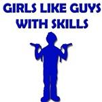Napoleon - Girls Like Guys With Skills