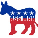 Democrat - Ass Man
