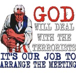 God Will Deal With The Terrorists