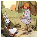 ALICE & THE WHITE RABBIT