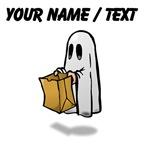 Custom Trick Or Treat Ghost
