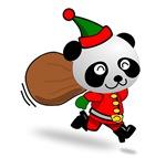 Panda Santa