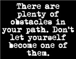 Plenty Of Obstacles
