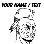 Custom Native American Warrior
