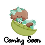 COMING SOON. CUTE AFRO AMERICAN BABY