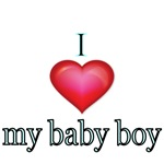 I love my baby boy.