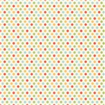 Colorful Party Dots Pattern