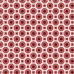 Deep Pink Octagon Pattern