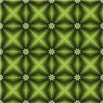 Green Stars Quilt Pattern