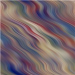 Red, White, And Blue Wavy Pattern