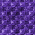 Contemporary Purple Interconnecting Squares Patter