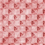 Contemporary Pink Interconnecting Squares Pattern