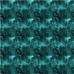 Turquoise Brushed Metal Effect