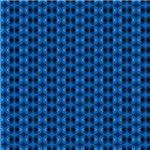 Contemporary Blue  Circles Pattern