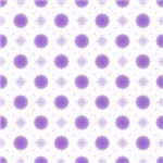 Pretty Purple Fluffy Flowers Pattern