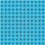 Light Blue Stars Pattern