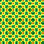 Green and Blue Octagon Pattern