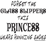 GLASS SLIPPERS/WEARS RUNNING SHOES