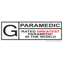 PARAMEDICS T-SHIRTS AND GIFTS