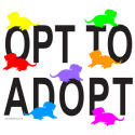 OPT TO ADOPT DOG T-SHIRTS AND GIFTS