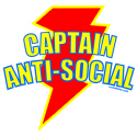 CAPTAIN ANTI-SOCIAL T-SHIRTS AND GIFTS