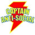 CAPTAIN ANTI-SOCIAL T-SHIRTS AND GIFTS