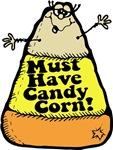 Funny Halloween Candy Corn