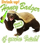 Drink Up Honey Badger