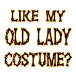 Halloween Old Lady Costume
