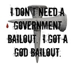 God Bailout  T-shirts & Gifts for Christians