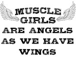 Muscle Girls have wings