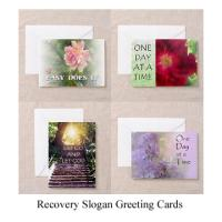 Recovery Slogan Greeting Cards