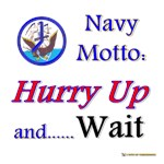Navy Hurry Up