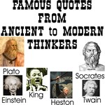 Quotes From Ancient To Modern Thinkers