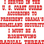 Coast Guard Rightwing Radical Threat