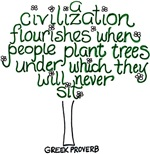 A Civilization Flourishes When...