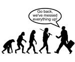 Go back we've messed up