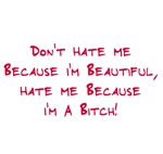 Don't hate beautiful