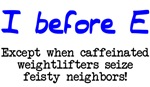 I before E except after...