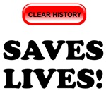 Clear History Saves Lives