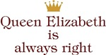 Personalized Queen Always Right