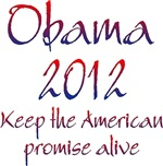 Obama 2012 Keep the American Promise Alive