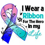 Ribbon Hero in My Life Thyroid Cancer Shirts