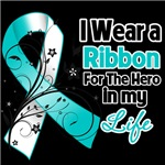 Ribbon Hero in My Life Cervical Cancer Shirts