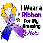 Ribbon Hero in My Life Bladder Cancer Shirts