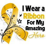 Ribbon Hero in My Life Appendix Cancer Shirts