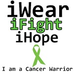 I Wear, I Fight, I Hope, I'm a Cancer Warrior