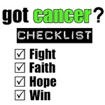 Got Cancer Checklist (Lime)