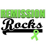 Remission Rocks Lymphoma T-Shirts