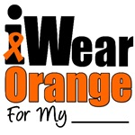 I Wear Orange Ribbon Leukemia T-Shirts & Gifts